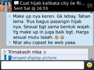 Customer Make Up Muslimah - Kalibata City
