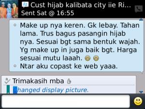 Customer Make Up Muslimah - Kalibata City