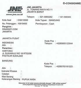 Pupuk Nasa - Bandung