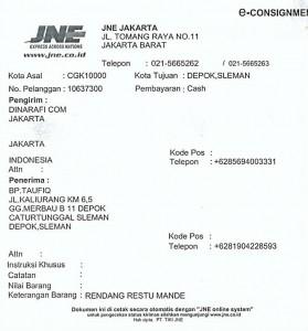 Rendang Padang Restu Mande - Yogyakarta