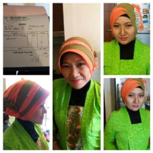 Customer Makeup Muslimah Wardah - Salemba