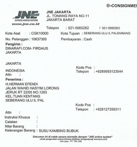 Susu Kambing Etawa - Palembang