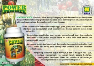 pupuk nasa power nutrition