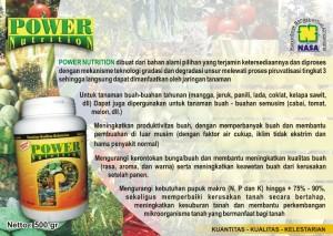 jual pupuk nasa power nutrition di bekasi