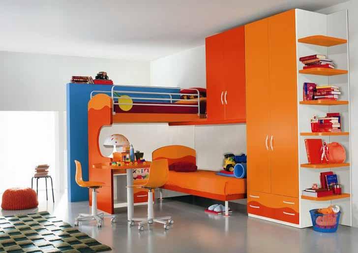 jasa desain tempat tidur anak di pondok bambu. Black Bedroom Furniture Sets. Home Design Ideas
