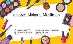 dinarafi makeup muslimah