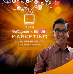 training instagram youtube marketing ippho santosa