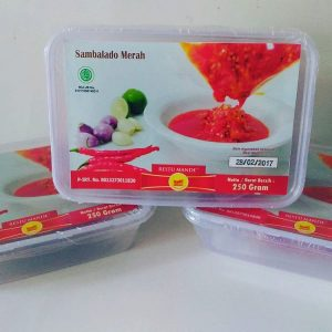 jual sambalado merah restumande di cikande serang