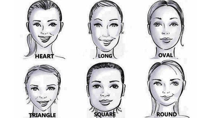 cara mengenal dan menentukan bentuk wajah wanita