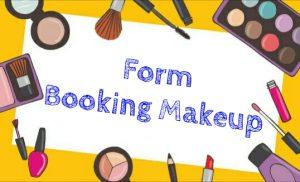 form booking makeup dinarafi muslimah