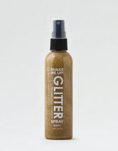 tampil glamour dengan makeup glitter spray