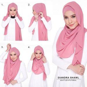 tutorial hijab pesta segi empat2