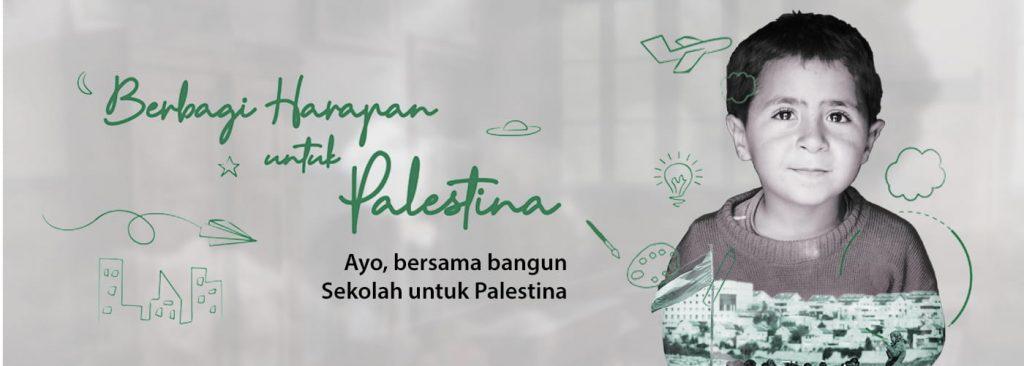 Ayo, Bangun Sekolah untuk Palestina