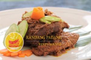 Jual rendang padang restu mande di Palembang